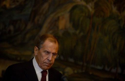 لافروف: الوضع في سورية جعل مبدأ عدم استعمال القوة أمرا مهما للغاية