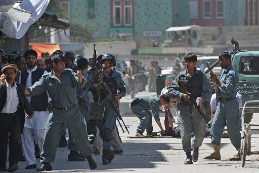 مقتل 3 رجال شرطة بانفجار عبوة ناسفة في أفغانستان