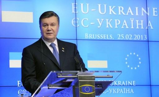 بوشكوف: هدف اتفاقية الشراكة بين الاتحاد الأوروبي وأوكرانيا هو الإطاحة بالرئيس يانوكوفيتش