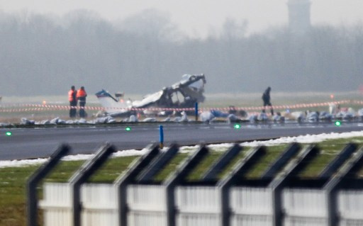 مقتل 11 شخصا في تحطم طائرة صغيرة في بلجيكا