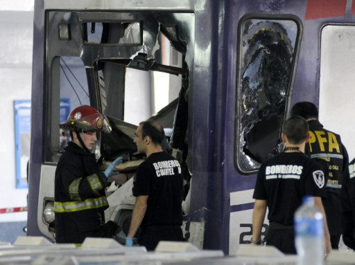 إصابة 80 شخصا في حادث قطار في الأرجنتين