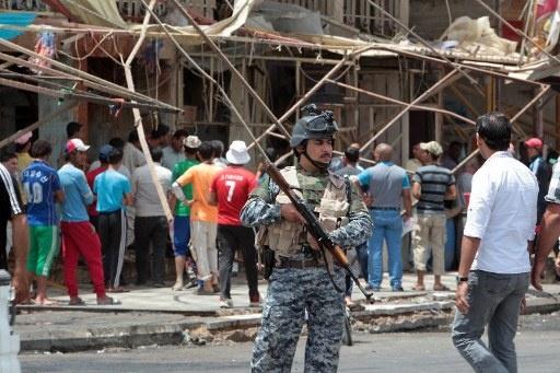مقتل 6 أشخاص من أسرة واحدة و8 انتحاريين ينفذون هجوما في وقت واحد في العراق
