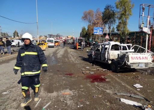 مقتل 58 شخصا وإصابة 60 آخرين في تفجيرين جنوب بغداد