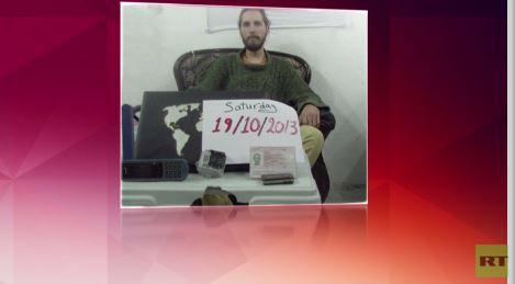 أول صورة للروسي المختطف في سورية من قبل جماعة مسلحة