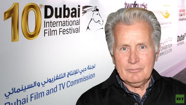 مهرجان دبي السينمائي يحتفي بالنجم العالمي مارتن شين