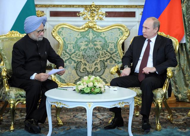 بوتين يأمل في أن تشارك روسيا في بناء 4 وحدات ذرية لتوليد الطاقة بالهند