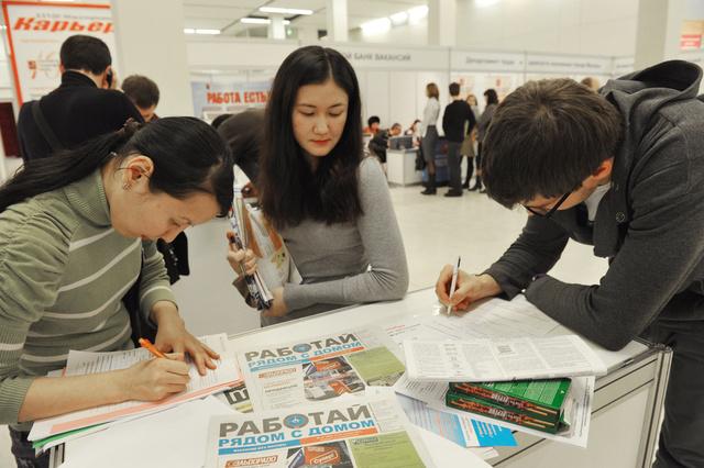 معدلات البطالة الرسمية في روسيا تتراجع بـ%4.9 الشهر الماضي