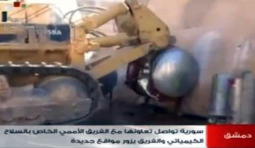 خبراء الكيميائي يدمرون معدات 14 منشأة سورية.. ومنسقتهم الخاصة تصل دمشق