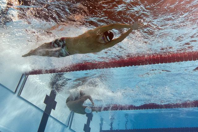 التونسي الملولي يحرز فضية العالم في سباق 1500 متر حرة