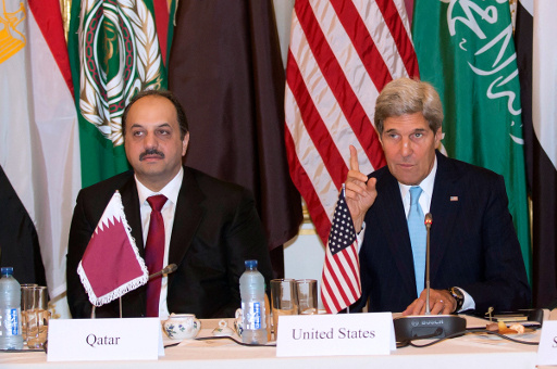 كيري: الحرب ستستمر في سورية في حال اعيد انتخاب الاسد عام 2014