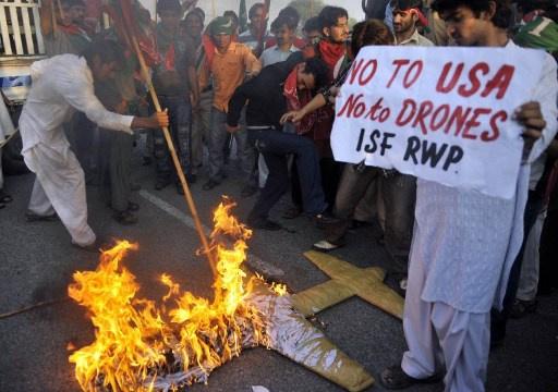 مقتل 4 أشخاص شمال غرب باكستان في غارة لطائرة امريكية بدون طيار