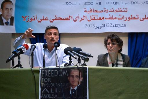 مظاهرات في المغرب تطالب بالإفراج عن الصحفي علي أنزولا المتهم بدعمه للإرهاب
