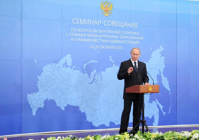 بوتين: ممثلو الديانات التقليدية يجب أن يكونوا حلفاء للسلطات في تفادي نزاعات قومية