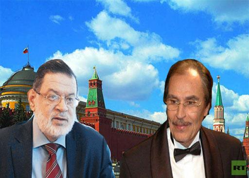 عزت العلايلي وثروت الخرباوي إلى روسيا ضمن وفد شعبي للتعبير عن الامتنان للرئيس بوتين