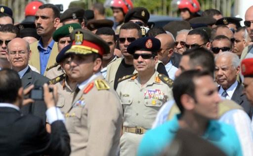 الجيش المصري يدعو السيسي لترشيح نفسه للرئاسة
