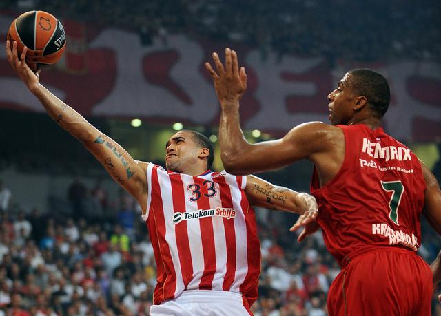 لوكوموتيف كوبان يهزم ليتفوس ريتاس في الدوري الأوروبي لكرة السلة