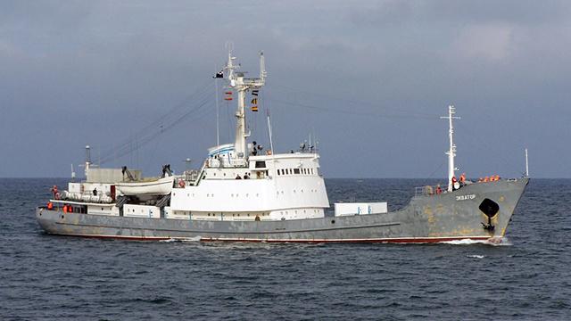 سفينة استطلاع روسية ثانية تصل البحر الابيض المتوسط