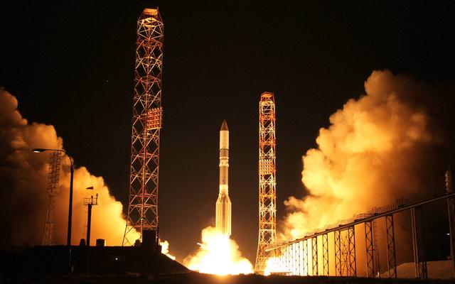 اطلاق ناجح لصاروخ