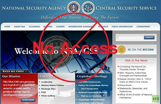 تعطل موقع وكالة الأمن القومي الامريكي لساعات بسبب خطأ تقني