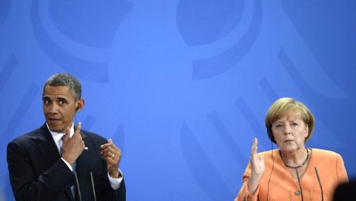 صحيفة ألمانية: أوباما كان يطالب وكالة الامن القومي بتقارير كاملة عن مكالمات ميركل