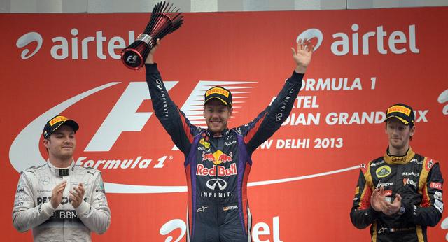 فيتيل يحرز بطولة العالم في الفورمولا1 للمرة الرابعة على التوالي