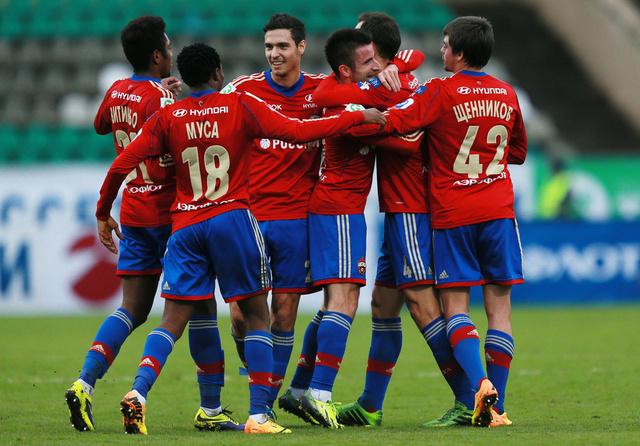 تسيسكا موسكو يستعيد بريق الفوز في الدوري الروسي