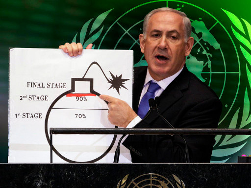 نتانياهو يؤكد قدرة ايران خلال اسابيع على تخصيب اليورانيوم الجاهز لصنع اسلحة نووية