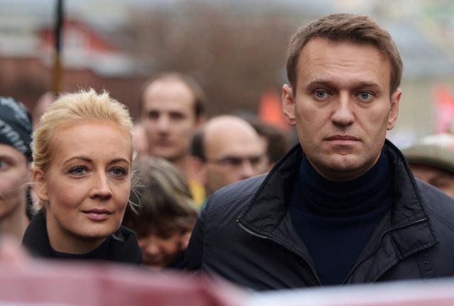 مشاركة 4،5 الف شخص في مسيرة المعارضة وسط موسكو