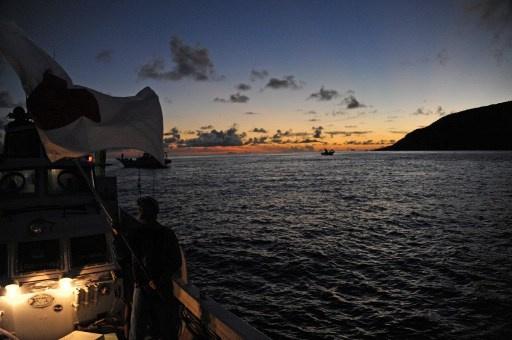 سفن صينية تدخل منطقة الجزر المتنازع عليها مع اليابان