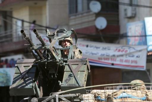 الجيش اللبناني ينتشر في جبل محسن وباب التبانة