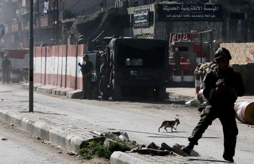 إصابة جنديين لبنانيين أثناء دخول الجيش إلى باب التبانة