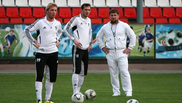 الرئيس الشيشاني يقيل مدرب فريق تيريك