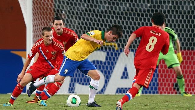 البرازيل تهزم روسيا في طريقها إلى ربع نهائي مونديال الامارات للناشئين