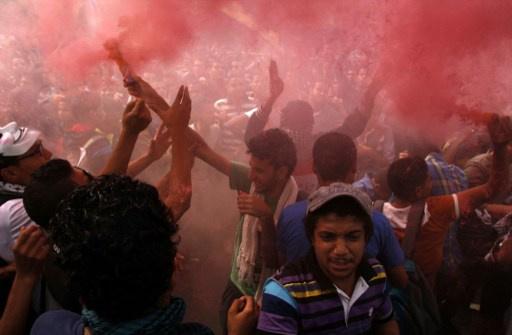 وزارة الداخلية المصرية: حوالي 2500 تجمعوا خارج أسوار جامعة الأزهر وقطعوا الطريق