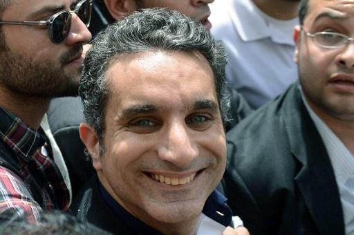 إحالة الإعلامي المصري باسم يوسف إلى النيابة بتهمة تكدير الأمن العام