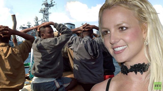 بريتني سبيرز سلاح سري لمكافحة القراصنة الصوماليين