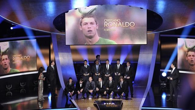 رونالدو وريبيري وميسي وإبرا من أبرز المرشحين لنيل الكرة الذهبية