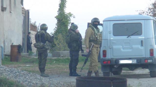 العثور على عبوتين ناسفتين بجمهورية قبردين - بلقاريا وإحباط عملية ارهابية ضد رجال الأمن