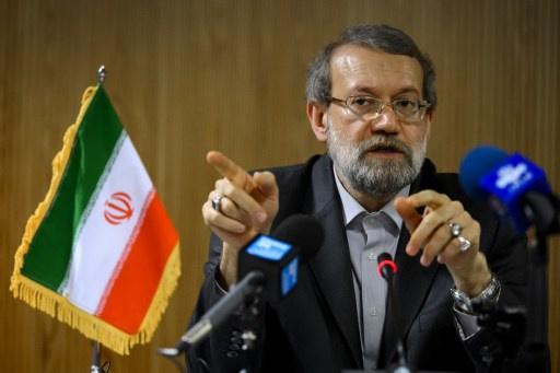 لاريجاني يعتبر مفاوضات ايران مع السداسية ايجابية