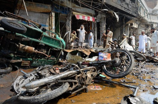 مقتل 5 اشخاص في انفجار قنبلة جنوب غرب باكستان ومقتل شرطيين اثنين شمال غرب البلاد