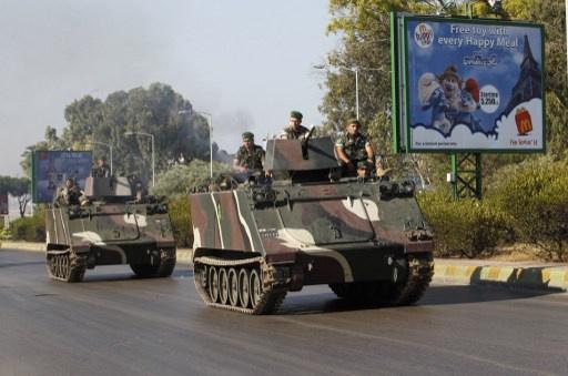 انفجار قرب مقر استخبارات الجيش اللبناني في البقاع