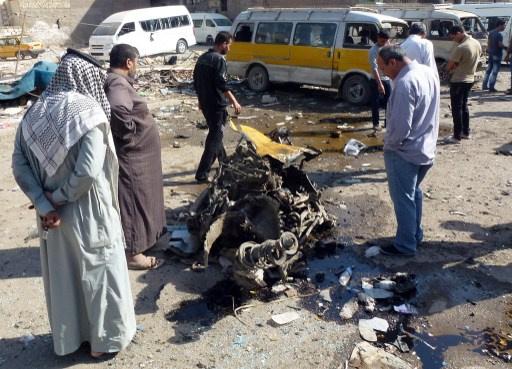 ثلاثة قتلى و37 جريحا بتفجيرات في العراق
