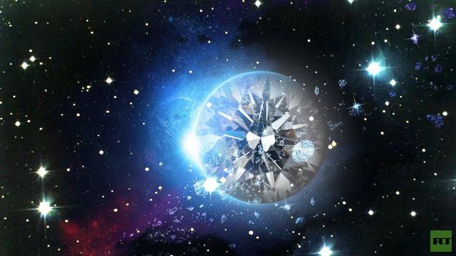 الكواكب الألماسية غير صالحة للحياة
