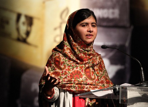 ملالا تفوز بأرفع جائزة أوروبية في مجال حقوق الإنسان