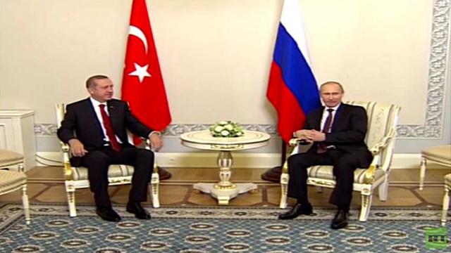 أردوغان: علينا القيام بخطوات ثنائية من أجل إيجاد حل للأزمة السورية