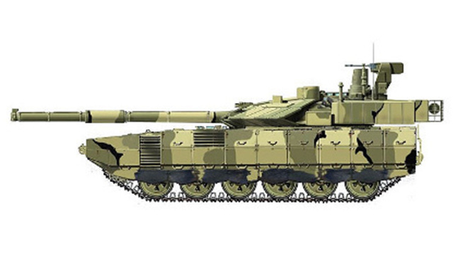 """اختبار دبابة """"أرماتا"""" الروسية الجيل"""