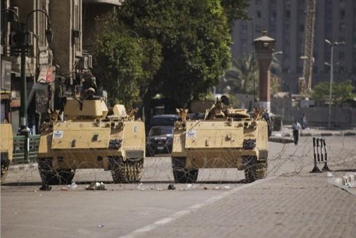 انتشار أمني في القاهرة قبل ساعات من بدء تظاهرات أنصار جماعة الإخوان المسلمين