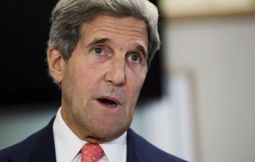كيري: إتلاف الكيميائي السوري لن يؤدي إلى انتهاء الحرب الأهلية والكارثة الإنسانية