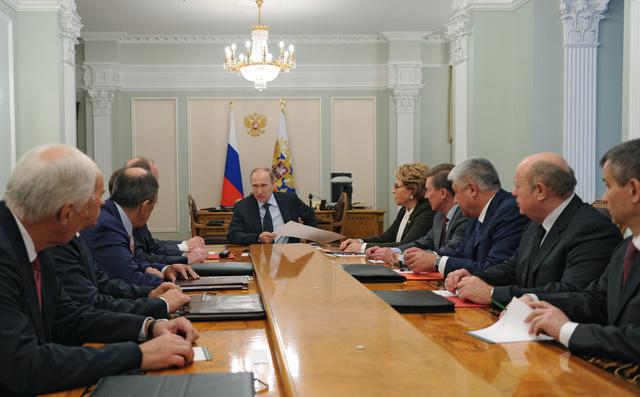 مجلس الأمن القومي الروسي: المحاولات الرامية الى نسف عملية التحضير لمؤتمر