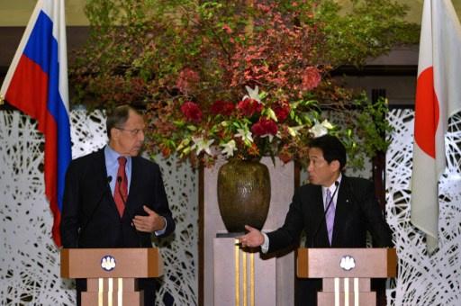 لافروف يشيد بمستوى التعاون التجاري الاقتصادي مع اليابان